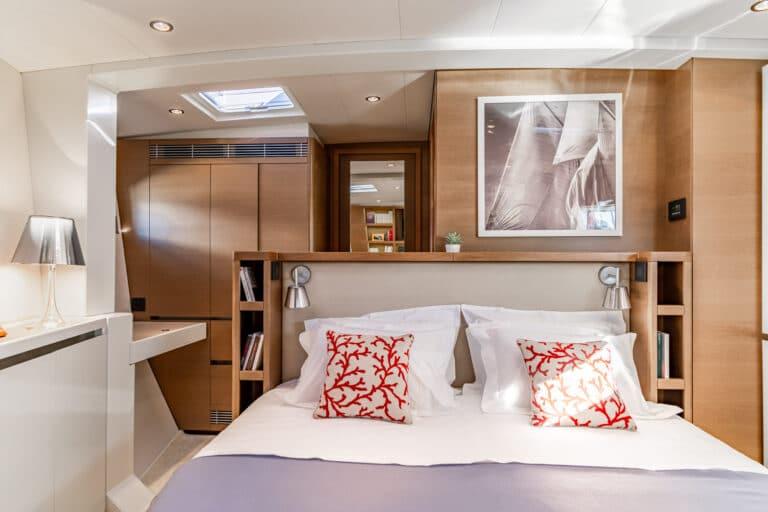 Spark - Luxury Sailing yacht - Master Cabin 2