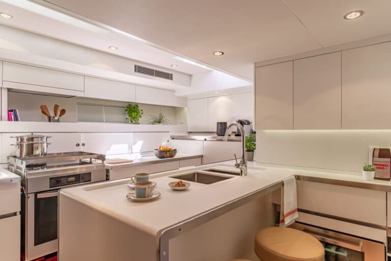 Spark - Luxury Sailing yacht - galley