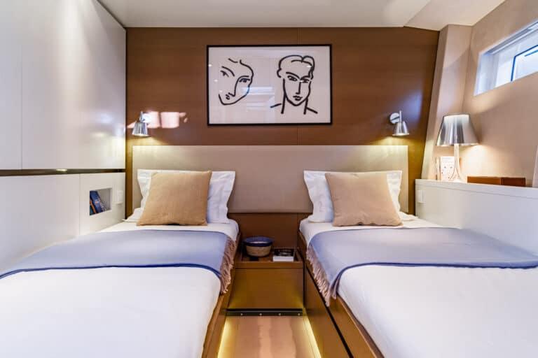 Spark - Luxury Sailing yacht - Twin Cabin