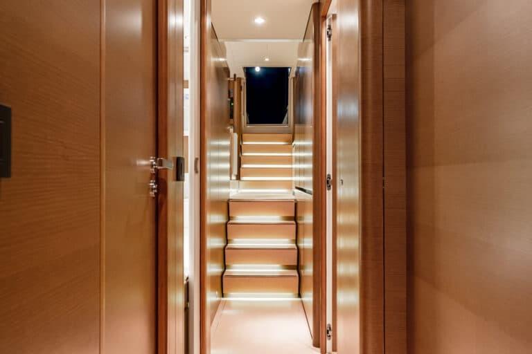 Spark - Luxury Sailing yacht - Hall