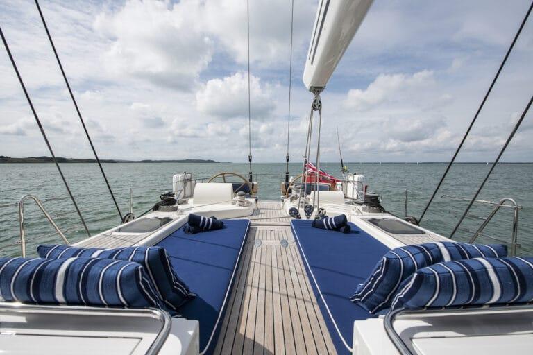 Vivid Jongert Sailing Yacht - Aft Deck and cockpit