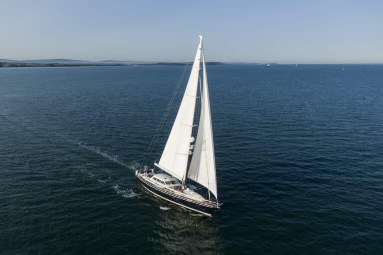 Vivid Jongert Sailing Yacht - Sailing