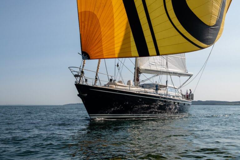 Vivid Jongert Sailing Yacht - Spinacker