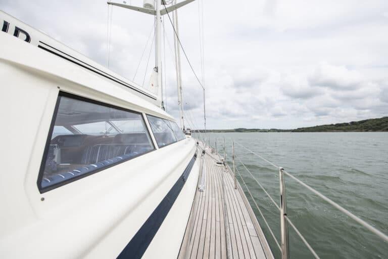 Vivid Jongert Sailing Yacht - board