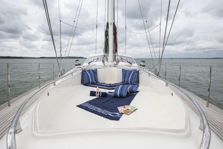 Vivid Jongert Sailing Yacht - Sun Deck front
