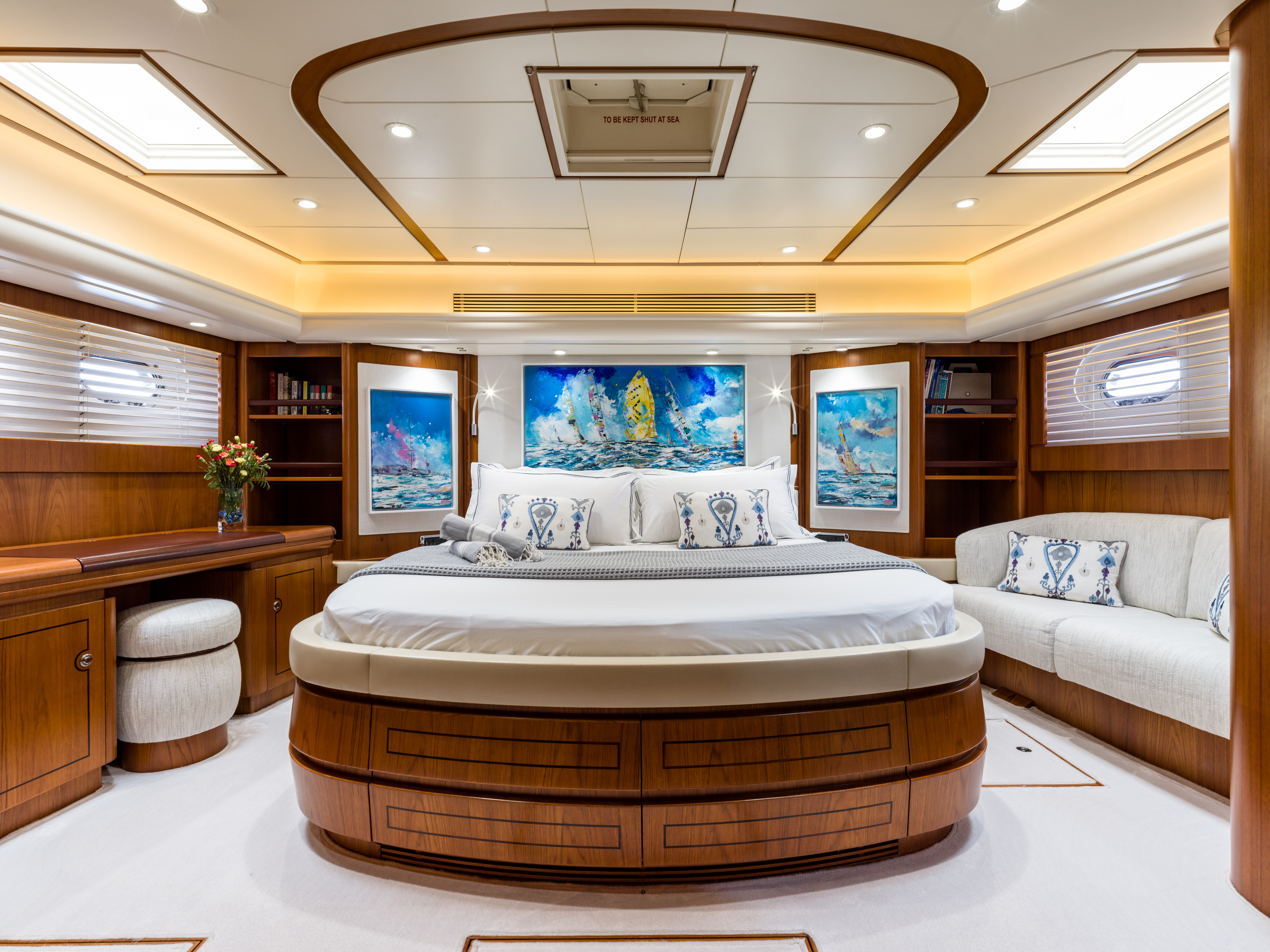 Vivid Jongert Sailing Yacht - Master Cabin