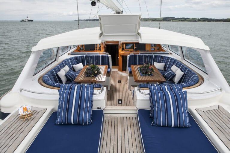 Vivid Jongert Sailing Yacht - Sun Deck