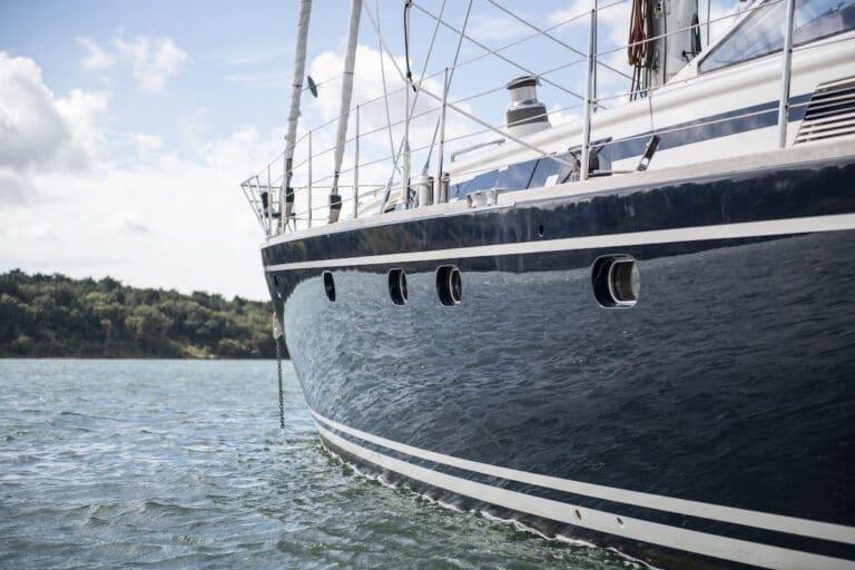 Vivid Jongert Sailing Yacht - At Anchor